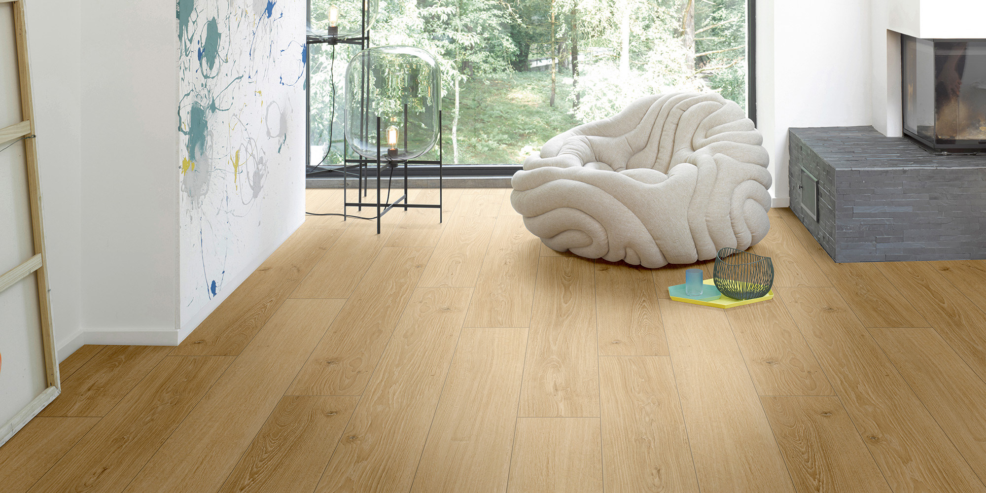 Parador Classic 1050. 8mm laminate flooring with AC4 rating and class 32.
