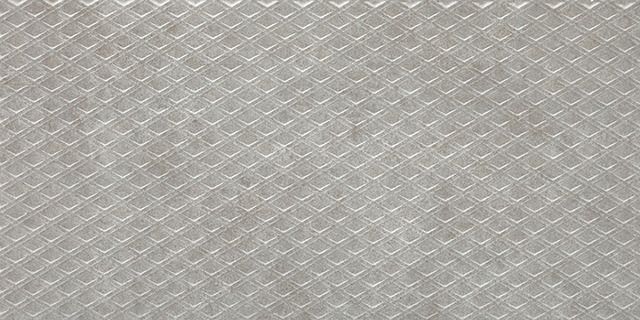 Aston Harvey Pearl 30x60. Concrete look 3D effect embossed wall tile decor.