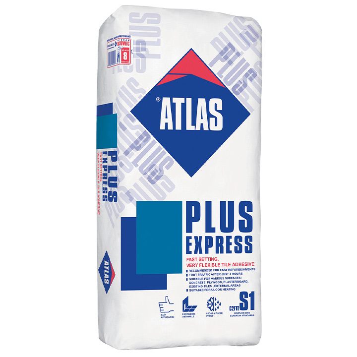 Atlas Plus Express fast setting deformable adhesive S1 2-5mm