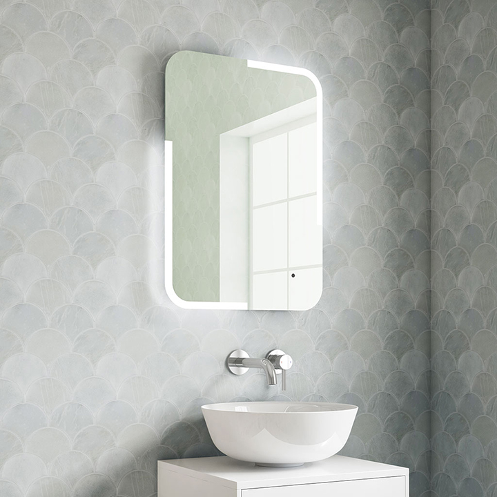 Bathroom audio mirror with Bluetooth connection - Tara 500