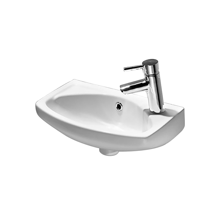 Cloakroom ceramic basin 350 and 450mm