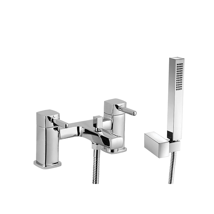 Bath shower mixer - Cube