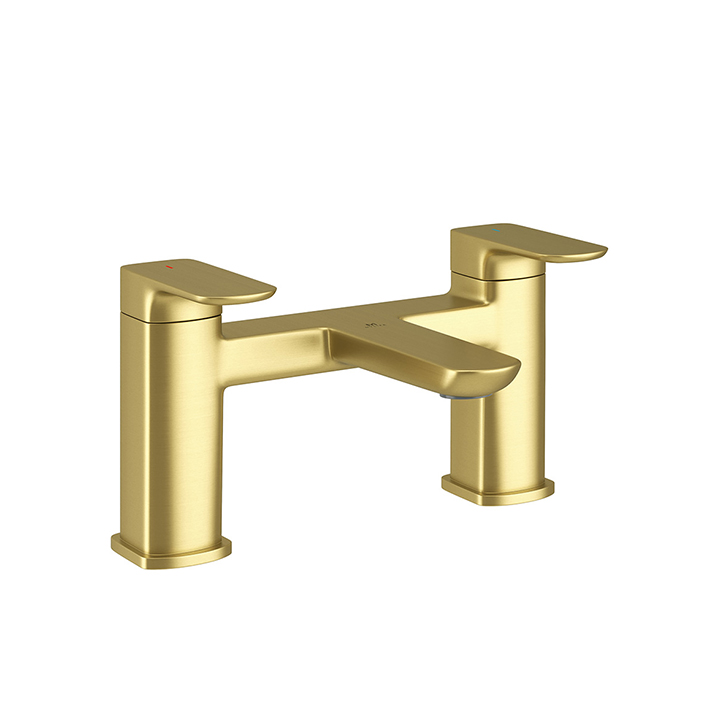 Bath tap - Pure Brushed Brass