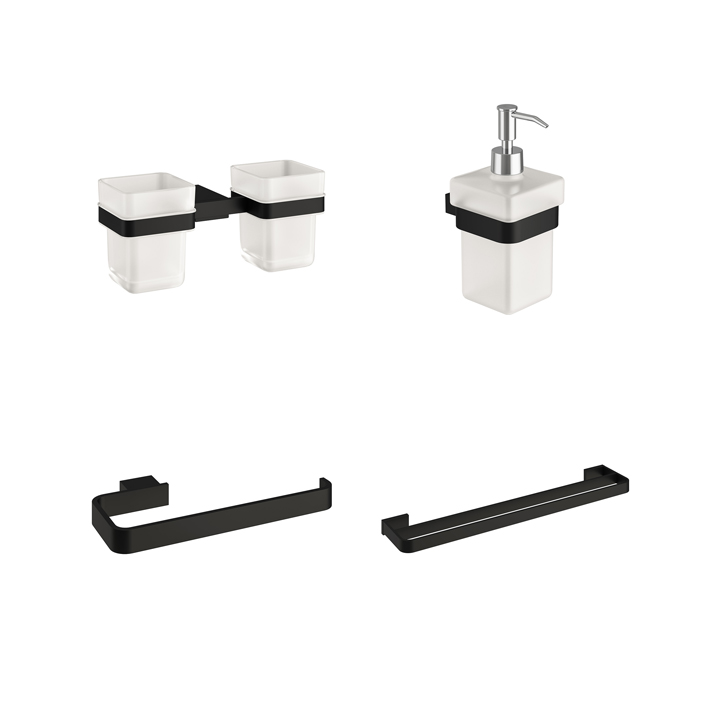 Bathroom accessories - Pure Black Edition