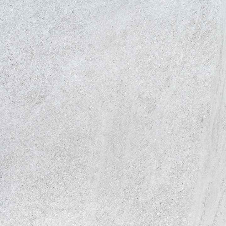Brooklyn Lux Ice 60x60. Semi-polished white stone look budget porcelain tile.
