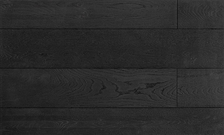 Caislean Oak Collection. Castle Black. Engineered wood flooring.