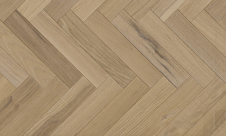 Caislean Oak Collection. Merion Herringbone. Engineered wood flooring.