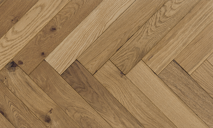 Caislean Oak Collection. Ormonde Herringbone. Engineered wood flooring.
