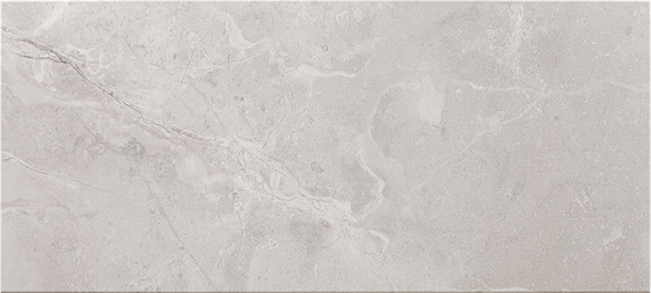 Ersa Grey 36x80. Large format marble look wall tile.