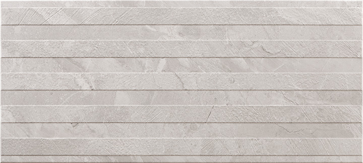 Ersa Relief Grey 36x80. 3D effect marble look decorative wall tile.