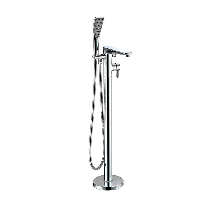 Floor standing bath shower mixer - Revolve