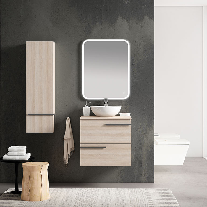 Bathroom furniture collection Crieve with freestanding basin