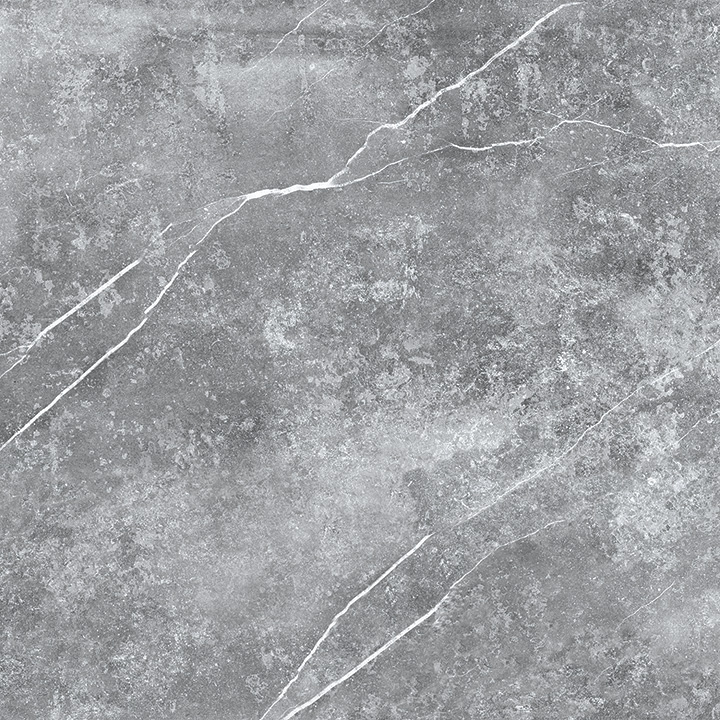 Kainos Grey 90x90. Large format natural stone look porcelain tile.