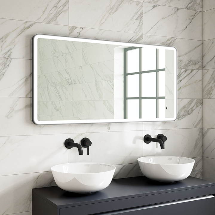Bathroom LED mirror - Beck 1200mm