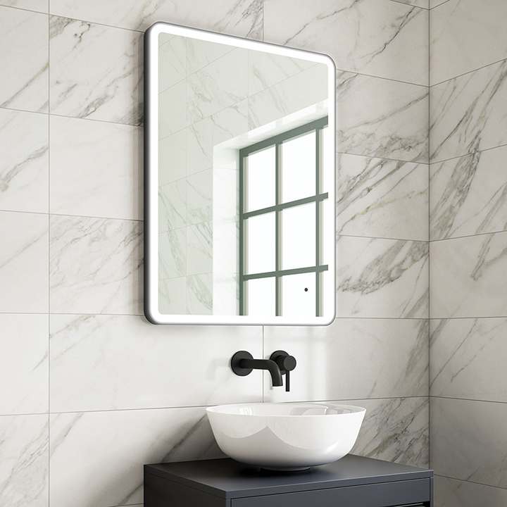 Bathroom LED mirror - Beck 600mm