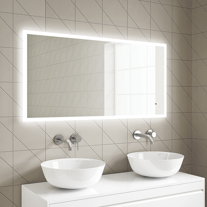 Bathroom LED mirror - Darcy 1000 and 1200mm