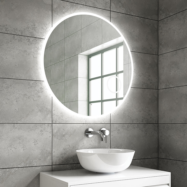 Bathroom LED mirror - Dion 800mm