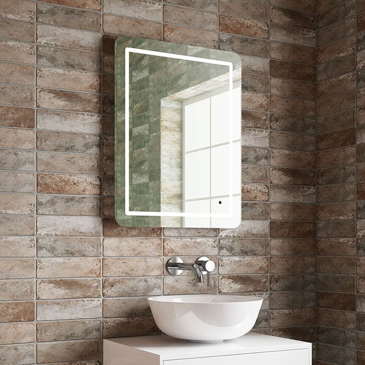 Bathroom LED mirror - Iris 550mm