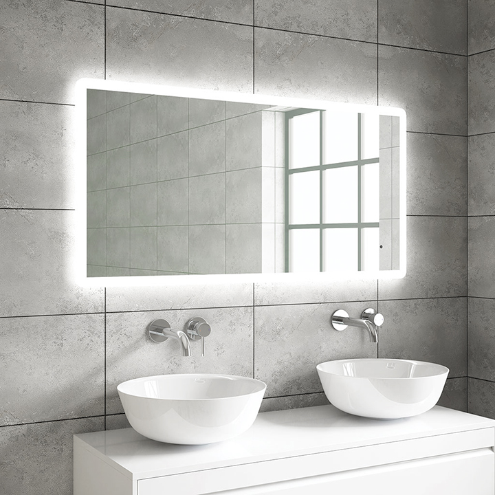 Bathroom LED mirror - Lyle 1000 and 1200mm