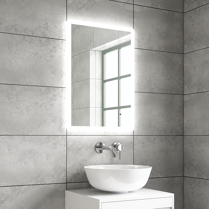 Bathroom LED mirror - Lyle 450, 500 and 600mm