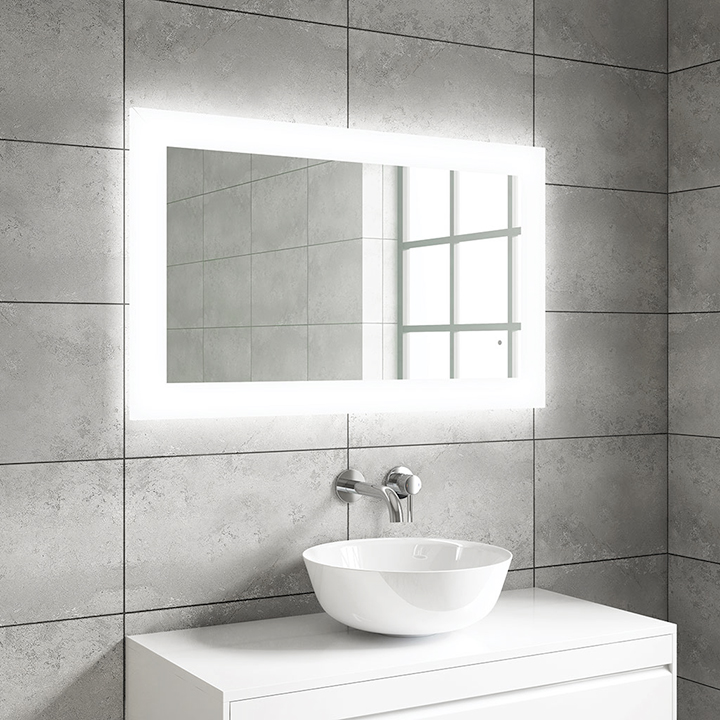 Bathroom LED mirror - Mika 1000mm