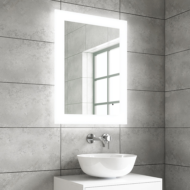 Bathroom LED mirror - Mika 600mm