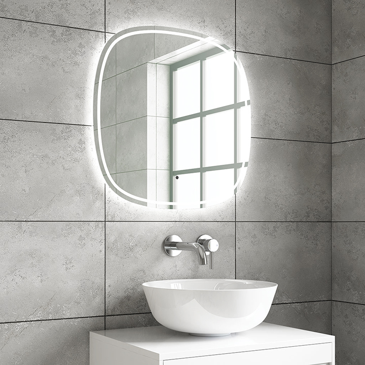 Bathroom LED mirror - Oren 600 and 800mm