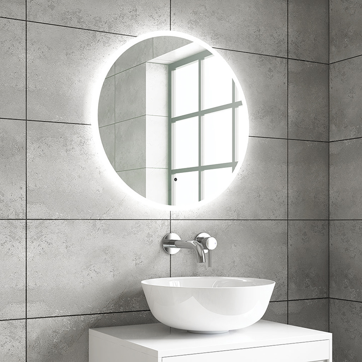 Bathroom LED mirror - Zane 600 and 800mm