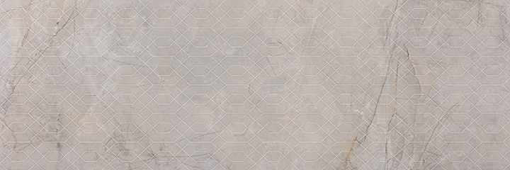 Metissage Decor Perla 33x100. High gloss finish large format stone look decorative bathroom wall tile.