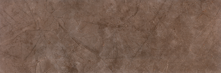 Metissage Nuez 33x100. High gloss finish, large format, stone look bathroom wall tile.