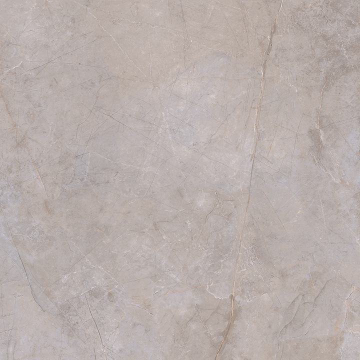 Metissage Perla 60x60. High gloss finish large format stone look bathroom floor tile.