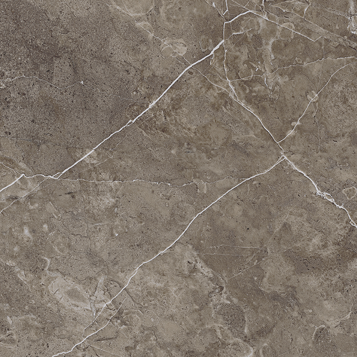 Mulina 80x80. Luxury large format marble look polished porcelain wall and floor tile. Design 2.