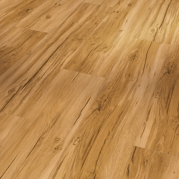 Parador Basic 5.3 Memory Natural Oak 1209x225x5.3mm. Wood effect vinyl flooring.