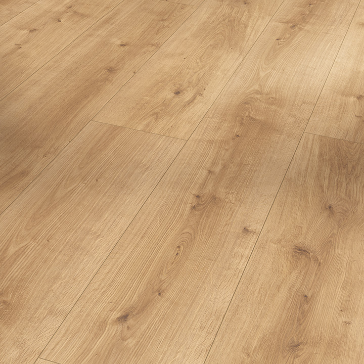 Parador Modular One Pure Natural Oak 2200x235x8mm. Resilient wood effect flooring.