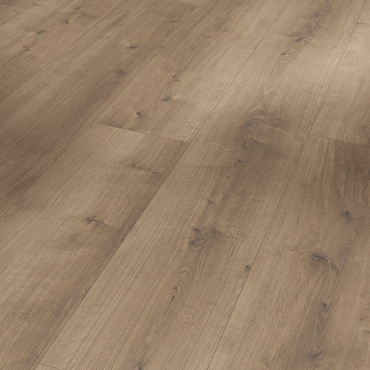 Parador Modular One Pure Pearl Grey Oak 2200x235x8mm. Resilient wood effect flooring.