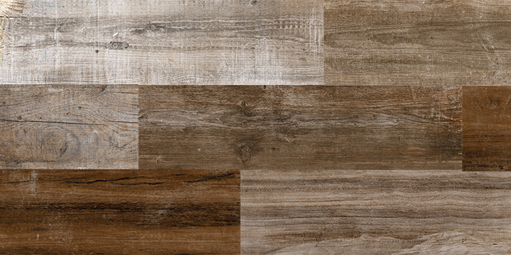 Retro Country 22x84. Old wood effect porcelain wall and floor tile with anti-slip rating R10 A.