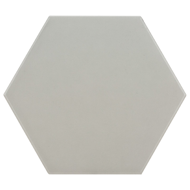 Scale Hexagon Light Grey 10.7x12.4. Vintage style and look hexagonal wall tile for bathrooms and kitchen splashbacks.