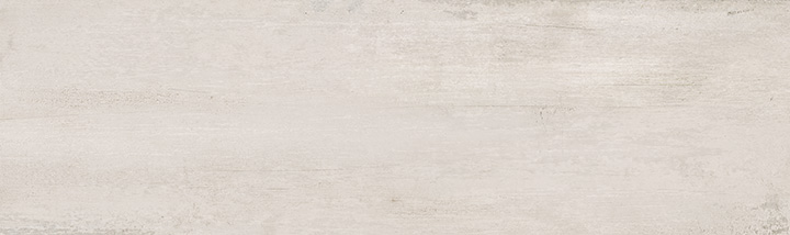 Sospiro White 29x100. Monocolour concrete look large format wall tile.