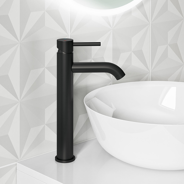 Tall basin tap - Black Edition