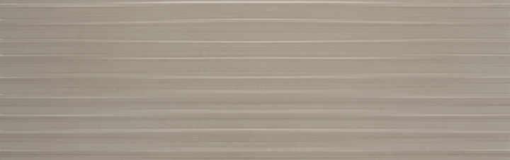 Volia Taupe Mate 25x75. Mono-colour relief 3D effect decorative wall tile.
