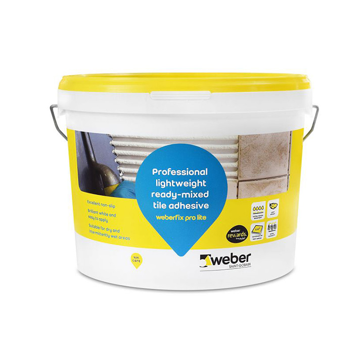 Tile fixing solutions. Tile adhesives.