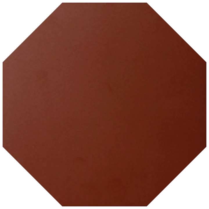 Winckelmans Red Octagonal 15x15. Victorian style quarry tile.