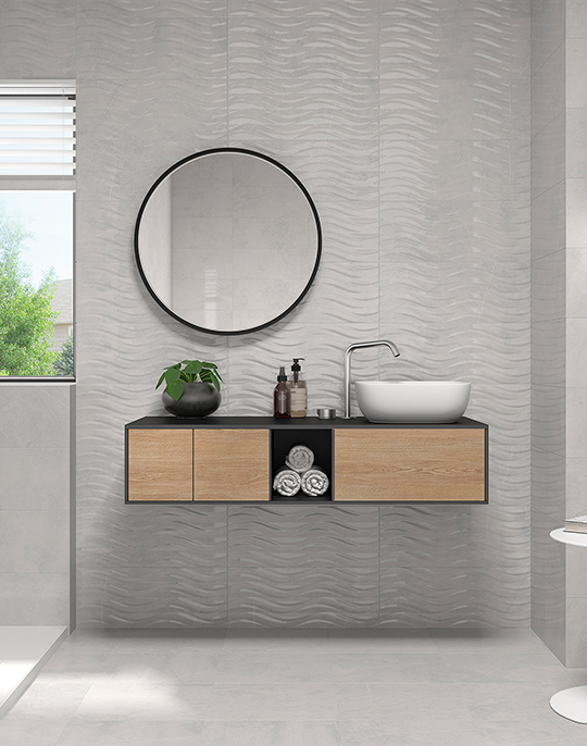 Buckingham. Marble look high gloss wall and floor tiles. View collection.