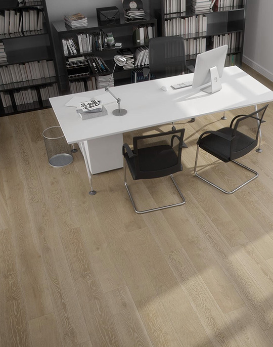 Rovere 22x90. Rustic wood look porcelain wall and floor tiles. View collection.